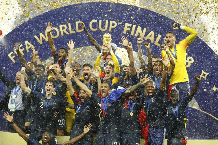 França vence a Copa da Rússia e conquista segundo título