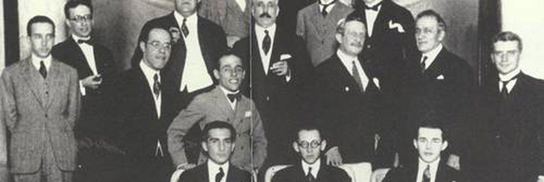 Grupo organizador da Semana de Arte Moderna de 1922