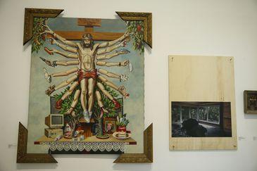 Exposição Queermuseu: Cartografias da Diferença na Arte Brasileira, no Parque Lage, no Rio.