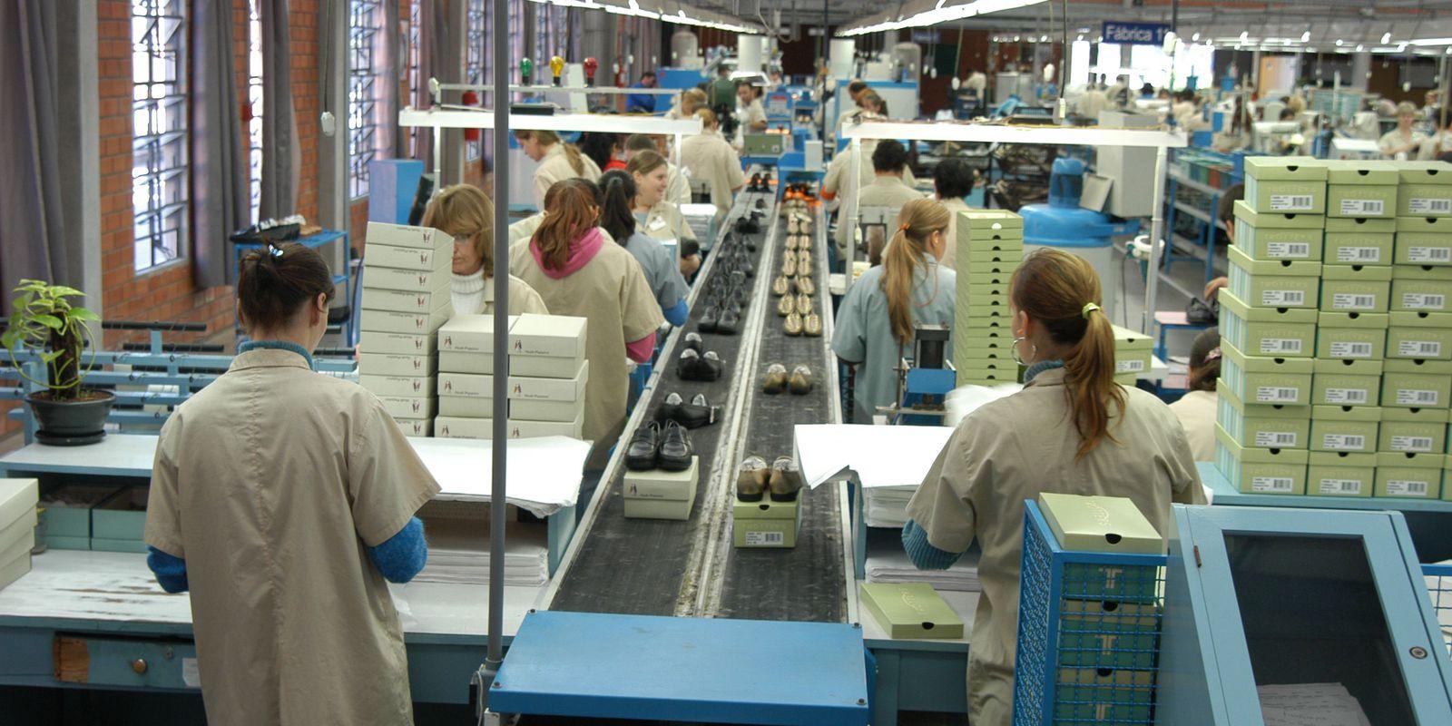 Indústria Wirth Calçados Dois Irmãos (RS) 14.04.2006 - Foto: Miguel Ângelo