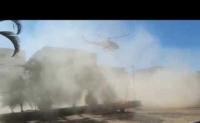 Helicóptero do Corpo de Bombeiros cai no DF