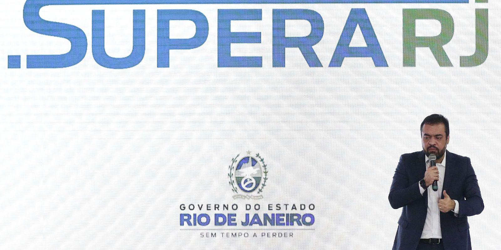 SUPERA RJ Rio de Janeiro 02/06/2021 - Lançamento do Programa SuperaRJ.Fotos Rafael Campos