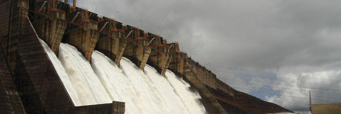 Usina hidrelétrica Itumbiara Goiás