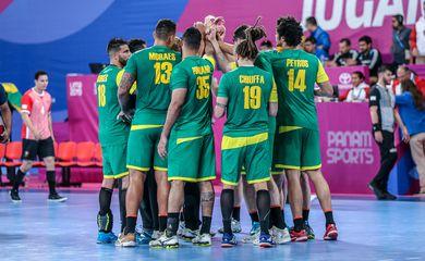 Seleção masculina de handebol estreia nos Jogos Pan-Americanos de Lima contra o México. Local: Villa Deportiva Nacional, no Peru.