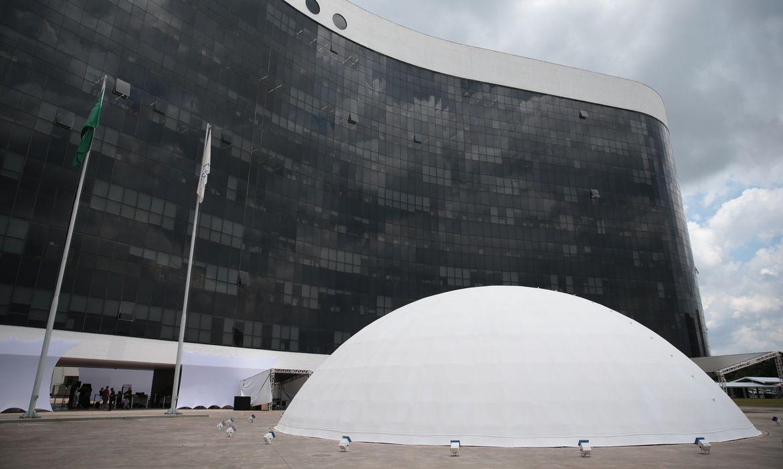 Centro de Divulgação das Eleições (CDE 2020), localizado no Tribunal Superior Eleitoral (TSE) em Brasília