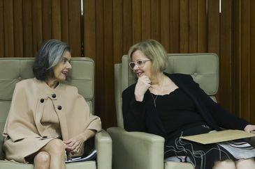 Ministra Cármen Lúcia abre o seminário Elas por Elas