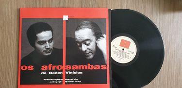 "Disco ""Os afrosambas"", de Vinicius de Moraes e Baden Powell"
