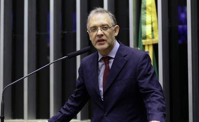 Homenagem ao Dia do Historiador (José Bonifácio). Presidente da Academia Brasileira de Letras, Marco Lucchesi