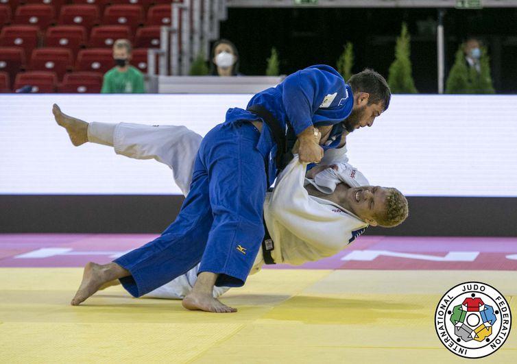 Rafael Buzacarini - judô - seleção Brasileira - Grand Slam de Budapeste - 2020