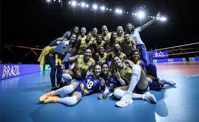 Liga das Nações: Brasil bate Holanda por 3 a 0