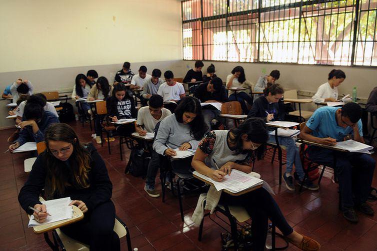ensino médio (Gabriel Jabur/Agência Brasília/GDF)
