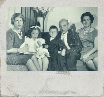 Foto da família de Lulu Landwehr