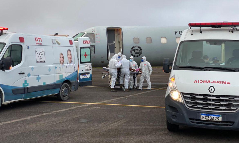 Covid-19 - Pacientes do Amazonas são transferidos para outros Estados