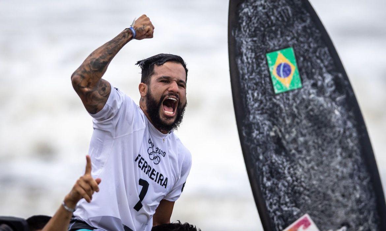 Ítalo Ferreira  - ouro - surfe, Tóquio - Olimpíada