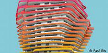 Fotógrafo alemão cria universos coloridos no cenário cinzento das grandes cidades