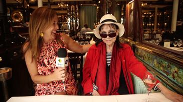A repórter Anna Karina de Carvalho entrevistou Anna Karina meses antes da atriz falecer