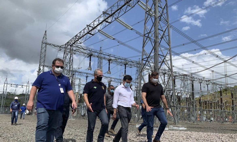 O Ministro de Minas e Energia, Bento Albuquerque, realizou uma visita técnica à subestação de Laranjal do Jari, no interior do Amapá.