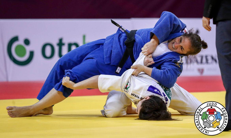 Maria Portela, ouro no Grand Slam de Tbilisi