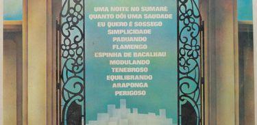 CAPA DE DISCO DE ORLANDO SILVEIRA