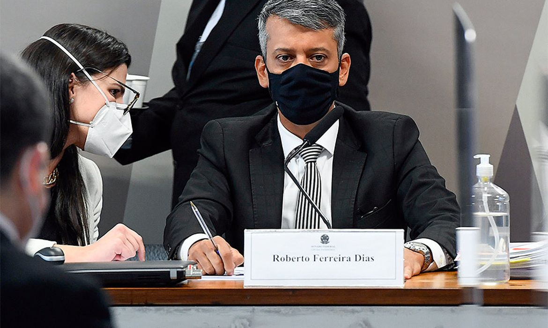 Comissão Parlamentar de Inquérito da Pandemia (CPIPANDEMIA) realiza oitiva do ex-diretor do Departamento de Logística do Ministério da Saúde, Roberto Ferreira Dias.