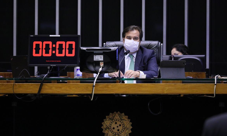 Ordem do dia para votação de propostas legislativas. Presidente da Câmara dos Deputados, dep. Rodrigo Maia (DEM - RJ)