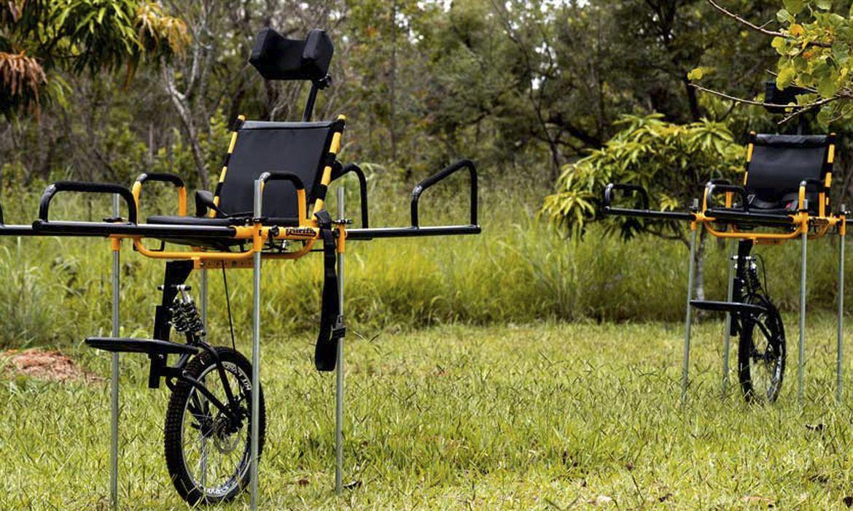 Cadeiras de rodas especiais serão distribuídas em parques nacionais de todas as regiões