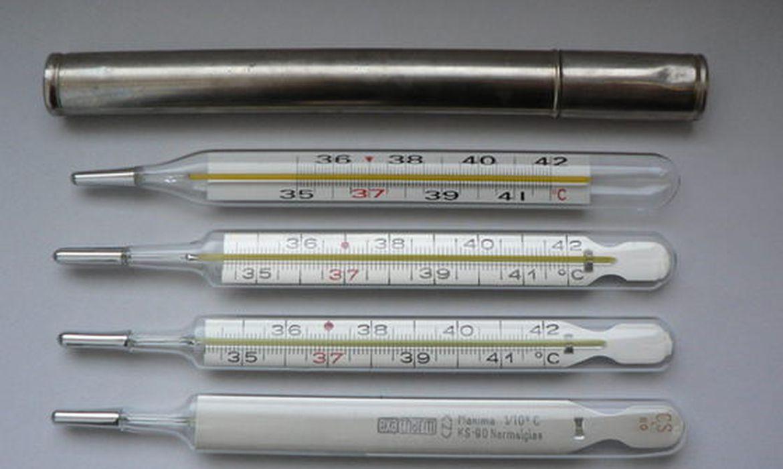 Termômetro de mercúrio