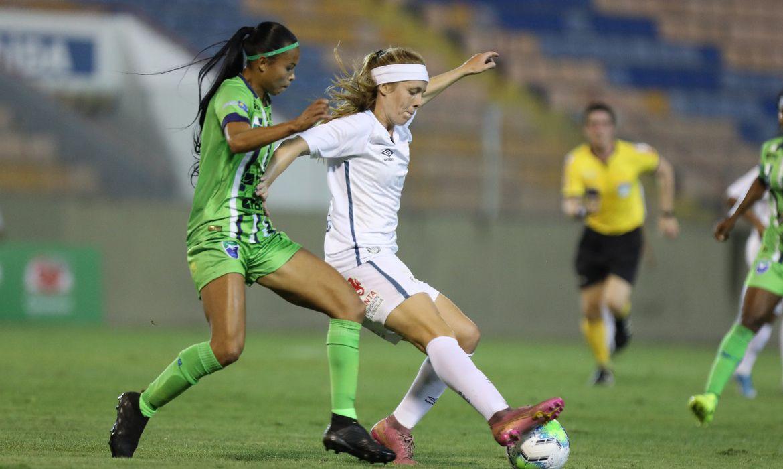 Katlen, do Santos/ futebol feminino