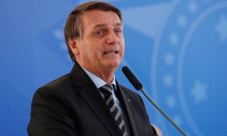 (Brasília - DF, 26/11/2020) Palavras do Presidente da República, Jair Bolsonaro.Foto: Alan Santos/PR
