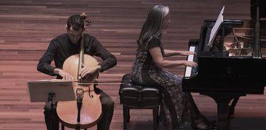 Partituras exibe apresentação de Lars Hoefs e Lucia Barrenechea