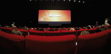 Sala de cinema no Festival de Cannes, em 2019