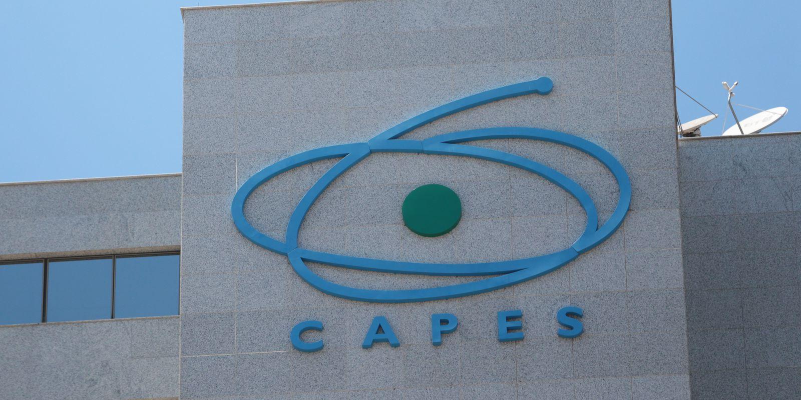Fachada do edifício-sede da Coordenação de Aperfeiçoamento de Pessoal de Nível Superior (Capes)