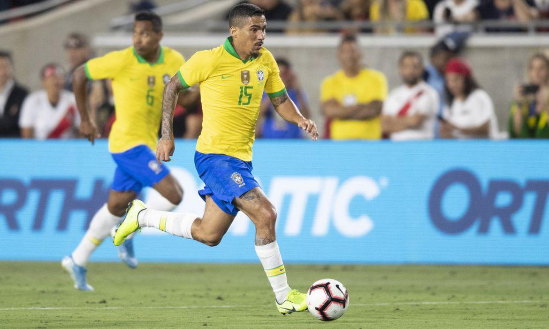 Allan, convocado para a seleção brasileira no lugar de Fabinho