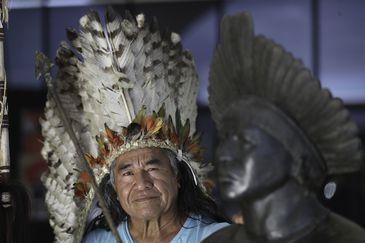 Diretor do Memorial dos Povos Indígenas, Álvaro Tukano