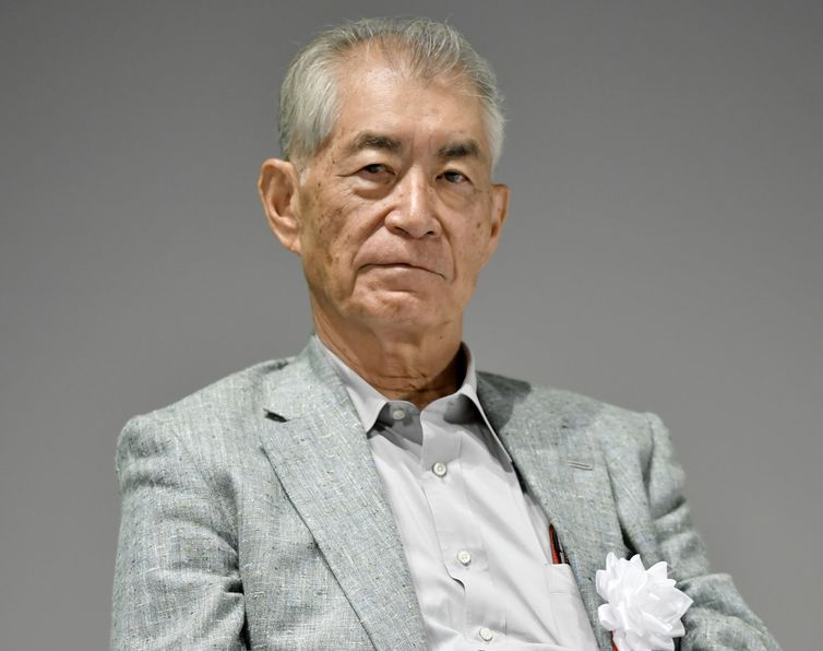 Kyoto University Professor Tasuku Honjo is pictured in Kyoto, Japan in this photo taken by Kyodo September 17, 2018. Picture taken September 17, 2018. Mandatory credit Kyodo/via REUTERS ATTENTION EDITORS - THIS IMAGE WAS PROVIDED BY A THIRD