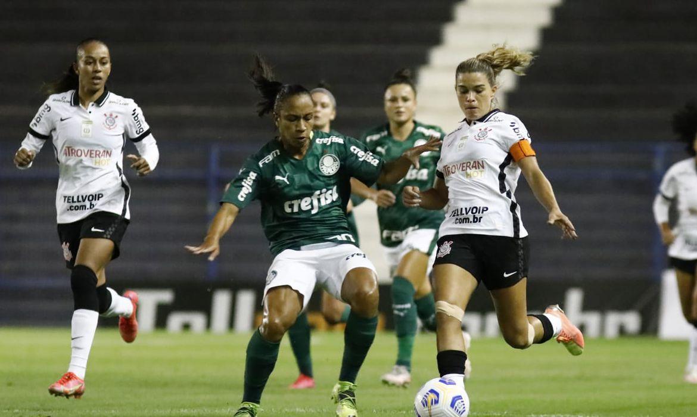 Palmeiras empata em 1 a 1 com Corinthians Feminino