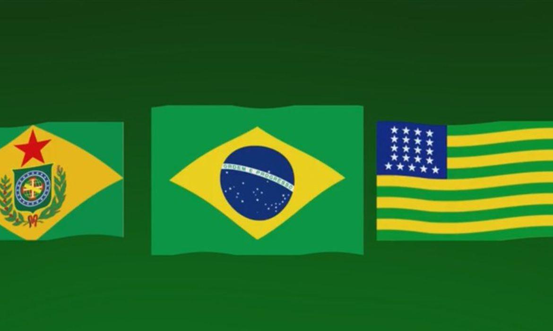 A Primeira Bandeira Do Brasil Republica exposição apresenta as primeiras bandeiras republicanas
