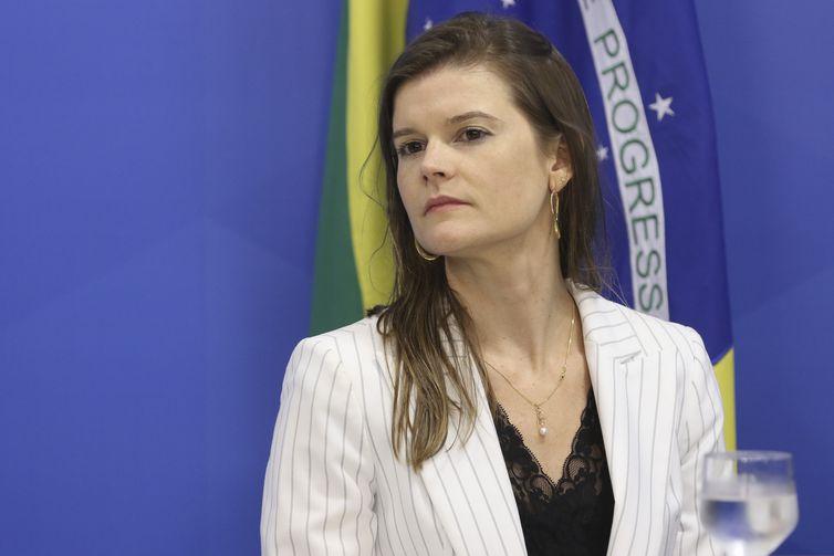 A secretária especial da Secretaria do Programa de Parcerias de Investimentos (PPI), Martha Seillier